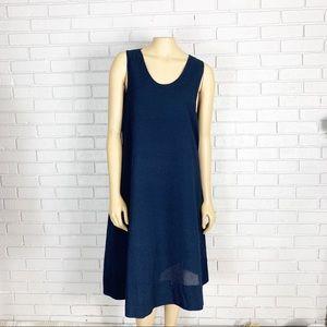 Cos Women's Navy Cotton Dress